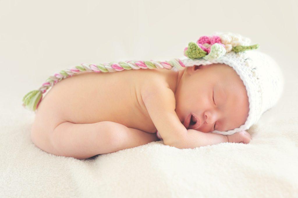 foto di neonato nato grazie alla legge 40