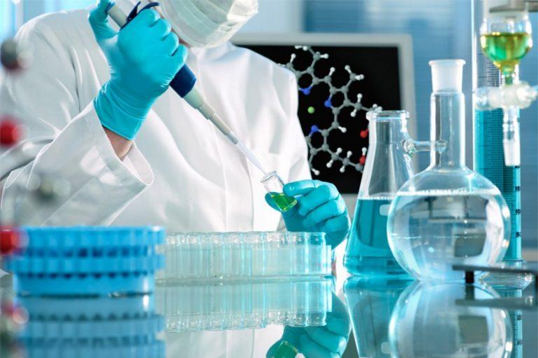 foto di laboratorio per fecondazione in vitro di II livello