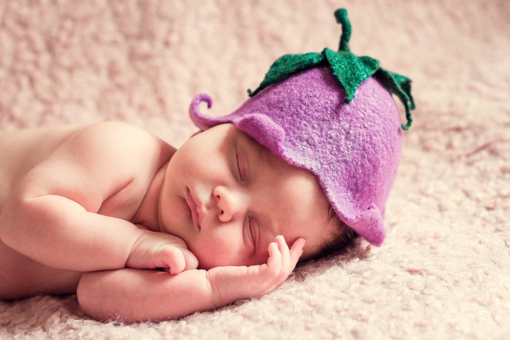foto di bambino appena nato da PMA