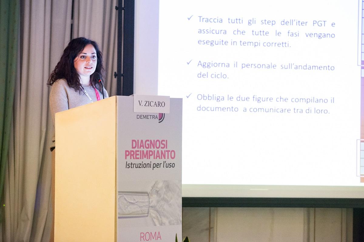 presentazione speaker al convegno diagnosi preimpianto
