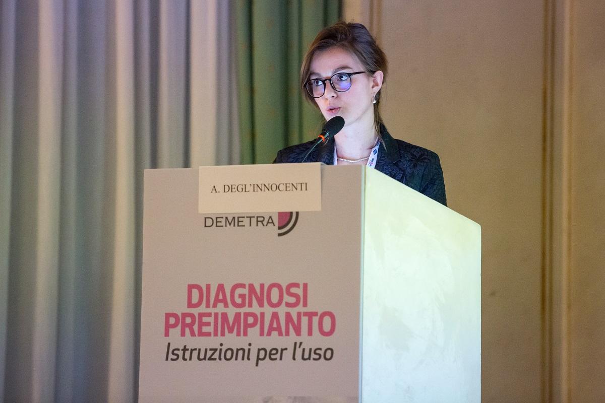 guest speaker al convegno diagnosi preimpianto