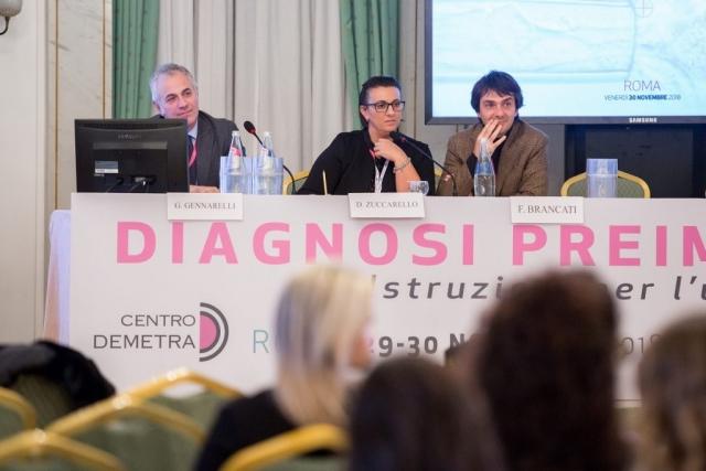 alcuni medici al convegno diagnosi preimpianto