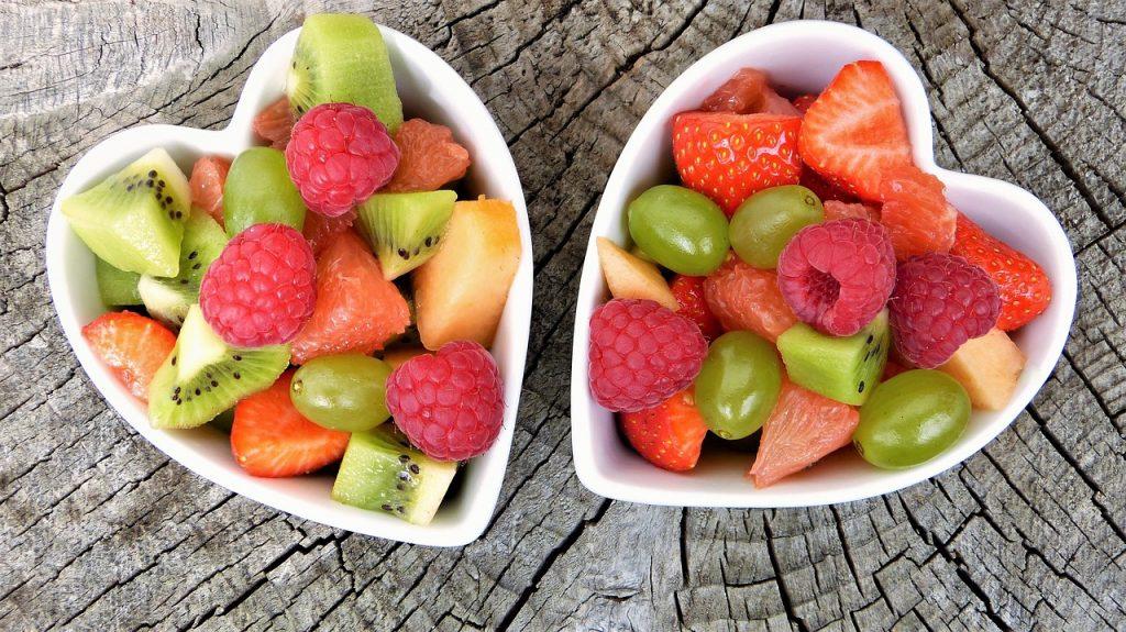 foto di frutta come alimentazione e fertilità sono connesse